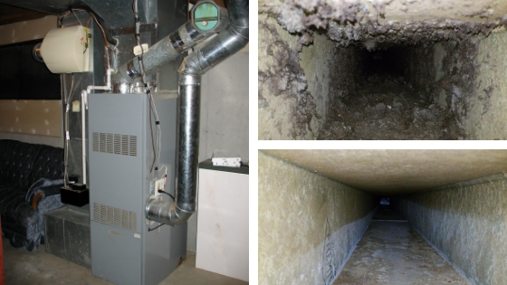 Furnace Dirty Ductwork